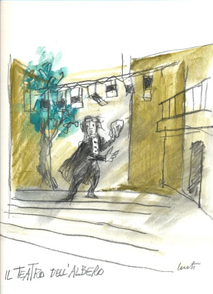 IlTeatro dell'Albero-Disegno Luzzati