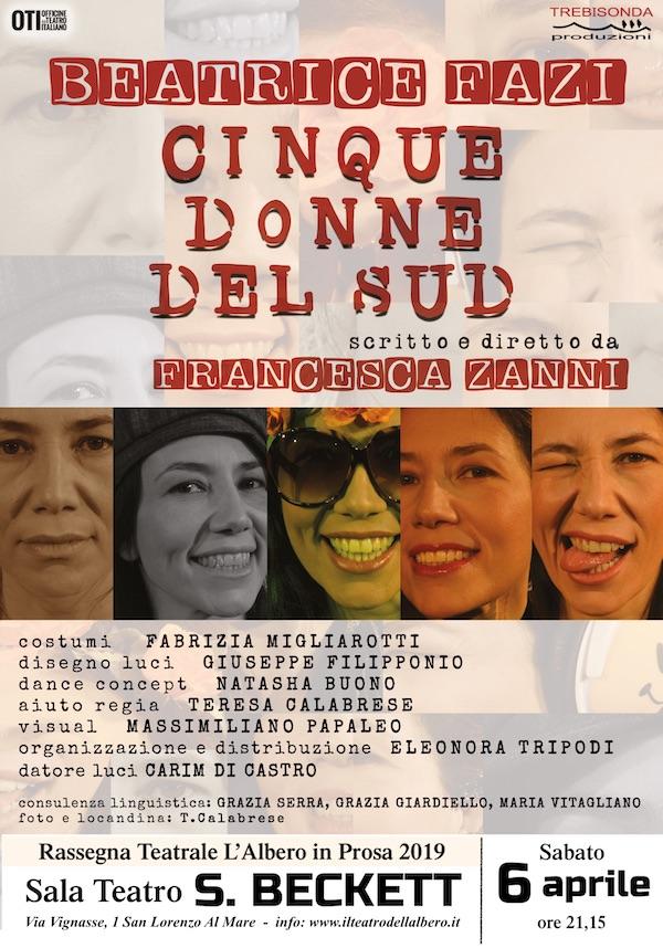 Locandina Cinque donne
