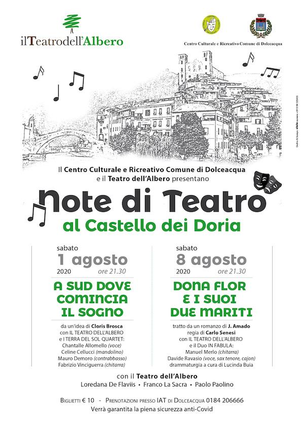 Locandina Note di Teatro 2020