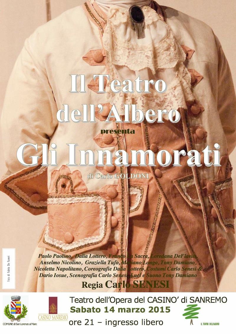 Teatro del CASINO- 14.03.2015 GLI INNAMORATI